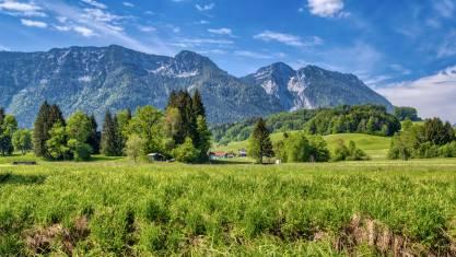 Landschaft bei Inzell