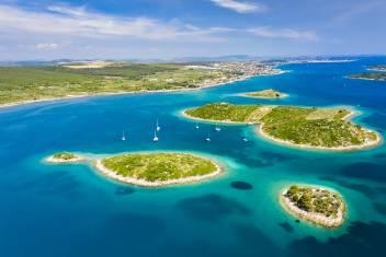 Kornati Insel in Kroatien