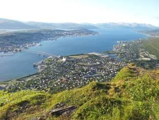 Blick über Tromsø