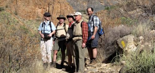 Namibia Aktivreise - Kgalagadi, Fishriver Trekking & Oranje Kanutour