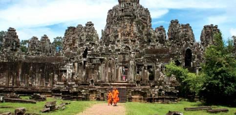 Von Phnom Penh nach Siem Reap und Angkor Wat