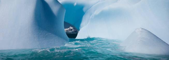 Eisberge auf der Antarktischen Halbinsel