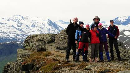 Schweden Trekking Wanderer