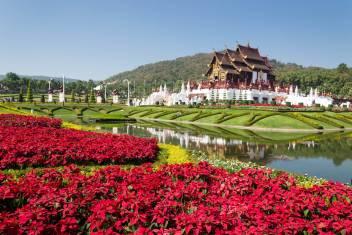 Königlicher Pavillion in Chiang Mai