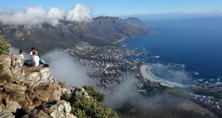 Aussicht über Kapstadt