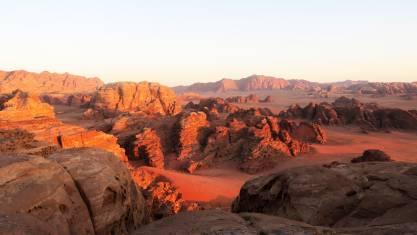 Wadi Rum Felsformationen