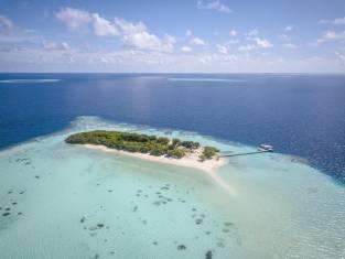 Malediven Felidhu Vaavu Atoll Insel