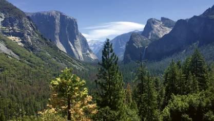 Gipfel im Yosemite Nationalpark