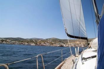 Griechenland Segeltörn - Mykonos nach Santorini