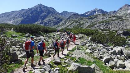 Bulgariens Berglandschaften - Gruppe