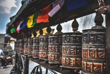 Kathmandu Gebetsmühlen