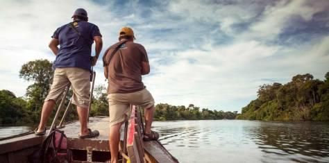 Reise vom Amazonas in die Anden