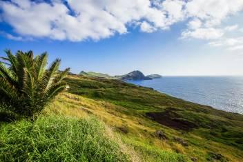 Idyllische Küstenlandschaft auf Madeira