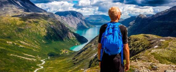 Wandern durch die norwegische Fjordwelt