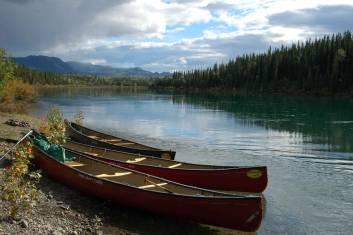 Yukon Kanu-Expedition auf dem Wind River