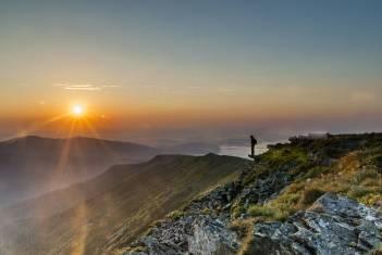 Beskiden Babia Gora Gipfel