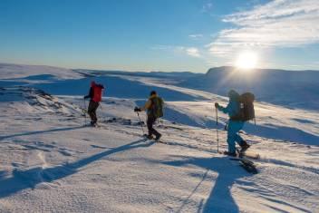 Schneeschuhtour Vindelfjällen