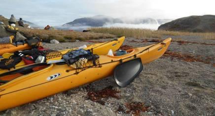 Kajak-Erlebnis in Grönland