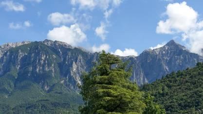 Bergpanorama Valsugana