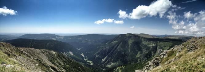 Riesengebirge Panorama