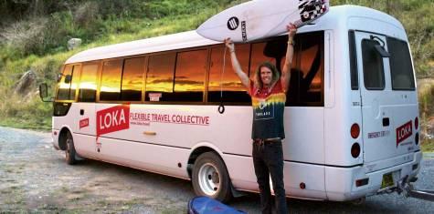 LOKA Australien Buspass - MICK