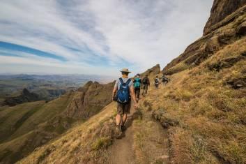 Drakensberg Wanderung Witsieshoek