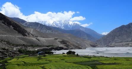Mustang Region in Nepal