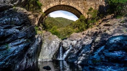 Brücke in der Ardeche