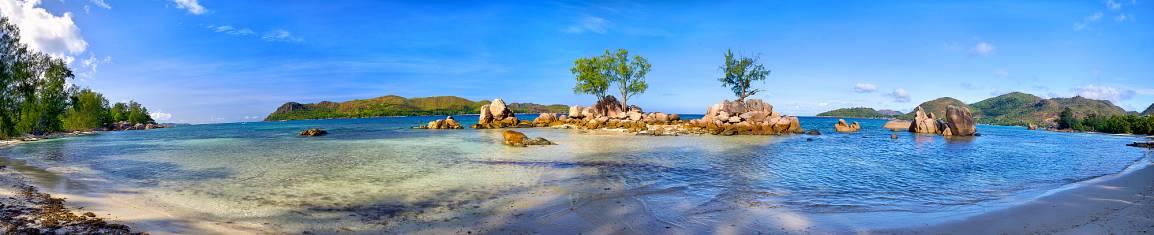 Seychellen Küste und Strand