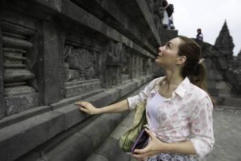 Besichtigung Borobudur Tempel