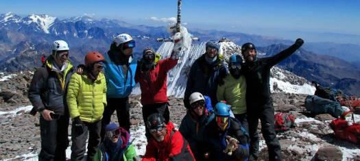 Aconcagua - Polengletscher Route