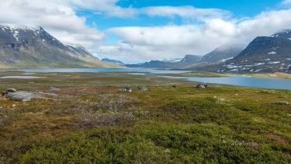 Wandern auf dem Kungsleden - Hüttentour von Abisko nach Vakkotavare