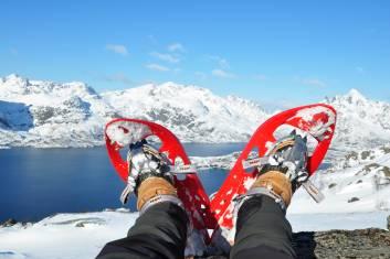 Lofoten Schneeschuhe