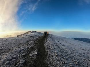 Kilimandscharo auf dem Weg zum Gipfel Uhuru