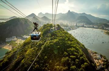 Seilbahn zum Zuckerhut in Rio de Janeiro