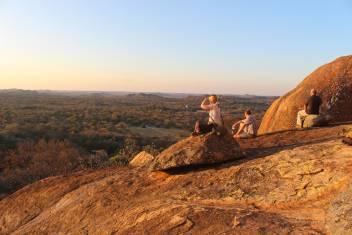 Aussichtspunkt Worlds View im Matobo Nationalpark