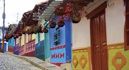 Von Quito nach Cartagena