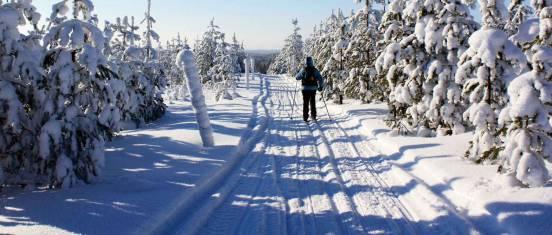 Ski-Abenteuer entlang der russischen Grenze