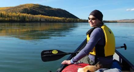 Kanutour auf dem Big Salmon River