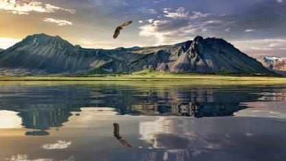 Wilde Landschaft in Neuseeland