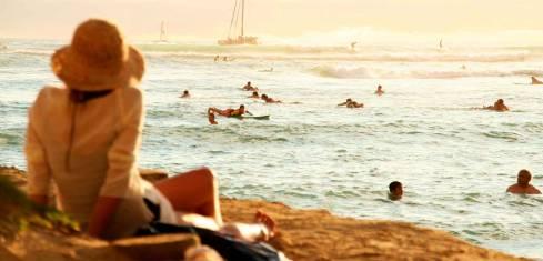 Honolulu - Erlebnis Waikiki Beach