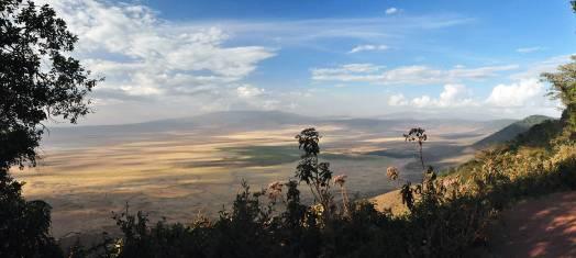 Ngorongoro Krater Panorama
