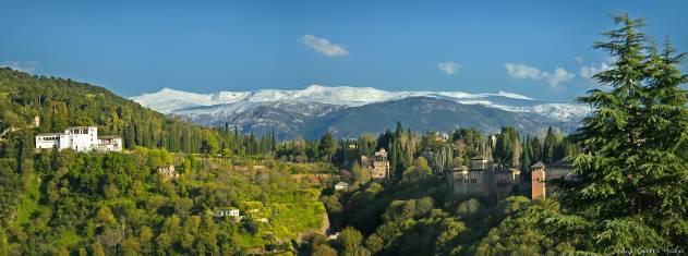 Sierra Nevada in Andalusien