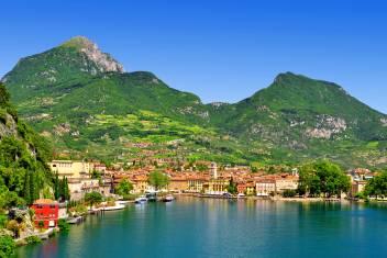 Riva del Garda am Gardasee