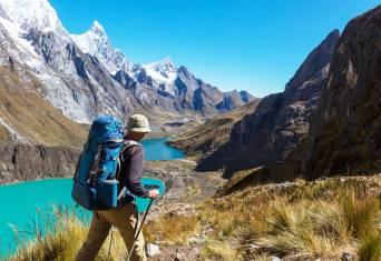 Wanderer Cordillera Huayhuash