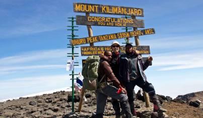 Gipfel Kilimandscharo Besteigung via Umbwe Route