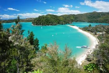 Idyllische Bucht im Abel-Tasman-Nationalpark