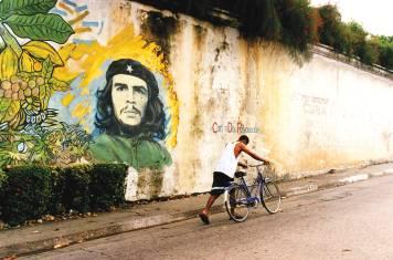 Wandbild von Che Guevara