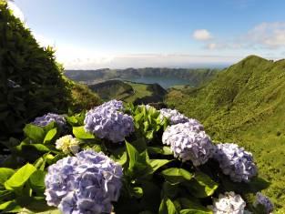 Kraterseen Sete Cidades Azoren