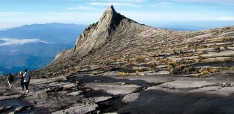 Sabah - auf dem Gipfel des Mount Kinabalu